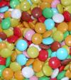 Farebné čokoládové guličky 5kg - väčšie