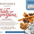 Pozvánka na předváděcí akci Fresh zmrzlina s chutí Vánoc