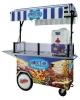 Stroj na točenú zmrzlinu z mrazeného ovocia SMOOTHIE stánek