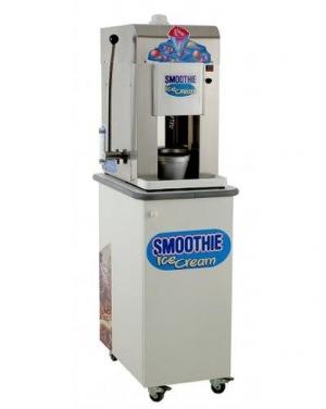 Stroj na točenú zmrzlinu z mrazeného ovocia SMOOTHIE s podstavcem