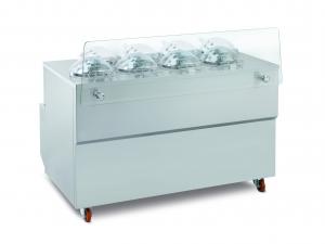 Vitrína kombinovaná s výrobníkom zmrzliny GX8