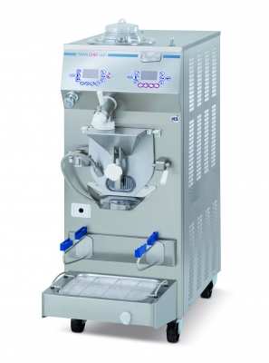 Kombinovaný výrobník zmrzliny s pasterom TWIN LCD 35