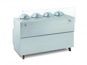 Vitrína kombinovaná s výrobníkom zmrzliny GX4