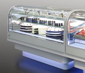 Cukrárska vitrína CLOUD L2200