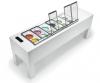 Zmrzlinová vitrína BELLEVUE WITH PANORAMA L1900