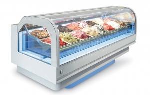 Zmrzlinová vitrína CLOUD L2200