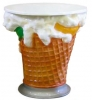Reklamný pútač zmrzlinový stolík
