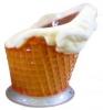 Reklamný pútač zmrzlinová stolička
