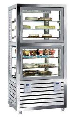 Kombinovaná chladiaca a mraziaca vitrína QPG 520 V/S