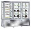 Kombinovaná chladiaca a mraziaca vitrína QPG 900 S/R