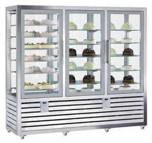 Kombinovaná chladiaca a mraziaca vitrína QPG 1300 S/S/V