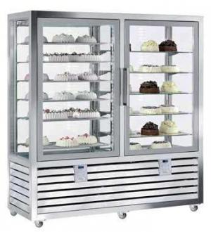 Kombinovaná chladící a mrazící vitrína QPG 1200 S/V