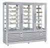 Kombinovaná chladiaca a mraziaca vitrína NPG 1300 S/S/V