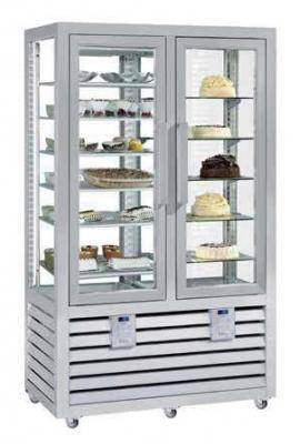 Kombinovaná chladiaca a mraziaca vitrína NPG 700 S/R