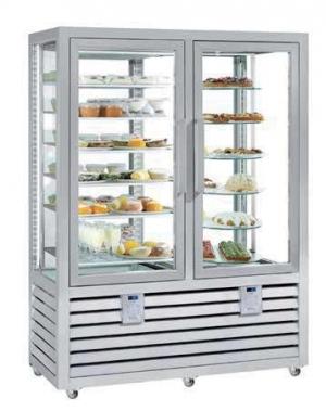 Kombinovaná chladiaca a mraziaca vitrína NPG 900 S/V