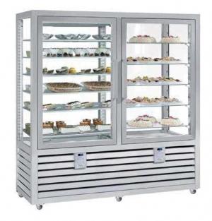 Kombinovaná chladiaca a mraziaca vitrína NPG 1200 S/V