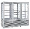Kombinovaná chladiaca a mraziaca vitrína CPG 1300 S/S/V