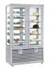 Kombinovaná chladiaca a mraziaca vitrína CPG 700 S/V