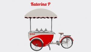 Predajný vozík Katerina